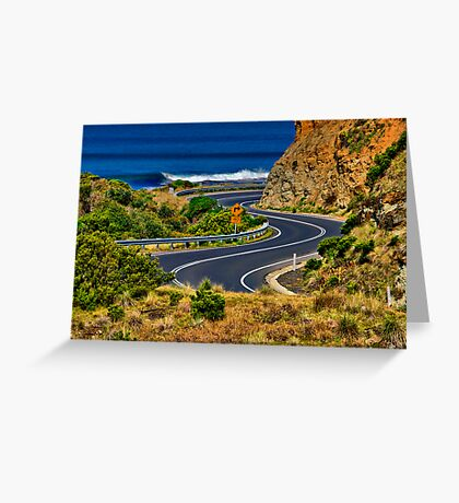"""""""S Bend"""" Greeting Card"""