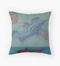 Duck! Throw Pillow