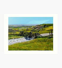 Ditchling Beacon Art Print