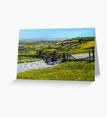 Ditchling Beacon Greeting Card