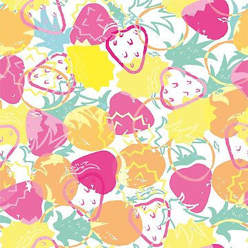 Summer Fruits Pattern by sarahmca
