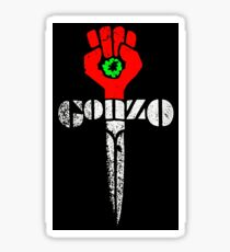 GONZO FIST - Hunter S. Thompson Sticker