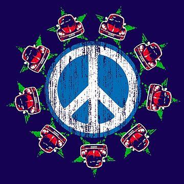 Beetle Peace by hoganartgarage