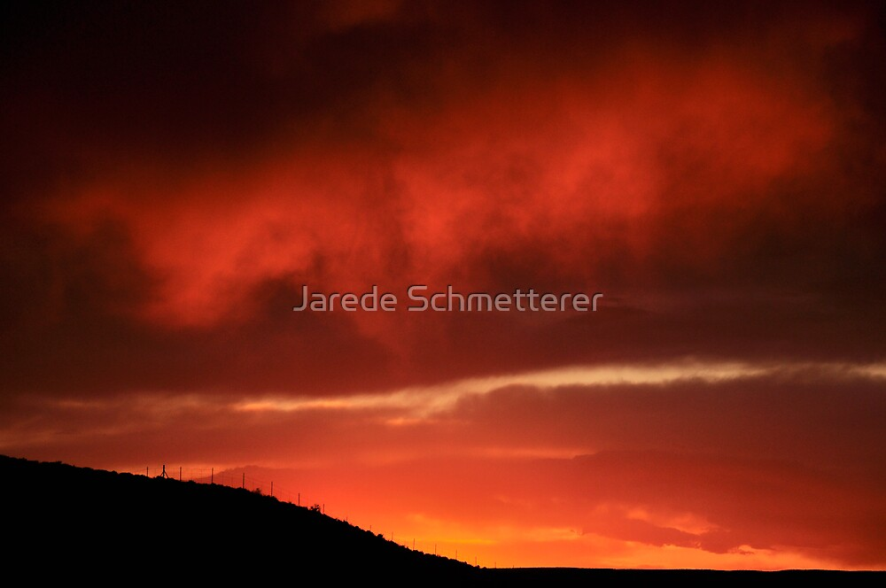 Sunset on I64 by Jarede Schmetterer