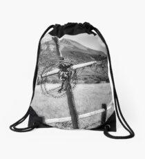 Pioneer Cemetery Drawstring Bag