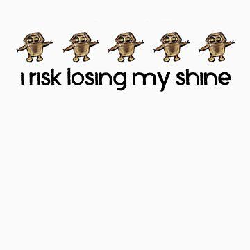 I Risk Losing My Shine Robots by alexv