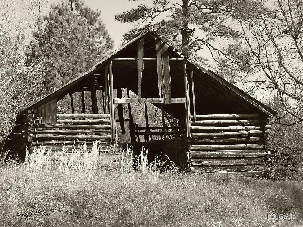 Hay Barn by Judy Gayle Waller