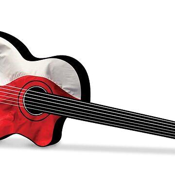 Texas Guitar by zaxart