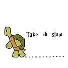 Take It Slow by bonniepangart