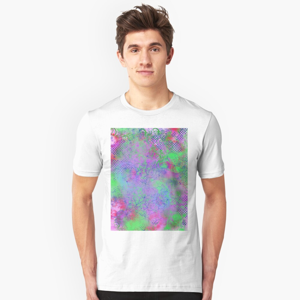 Psychedelia Slim Fit T-Shirt