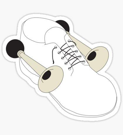 Shoehorn Sticker