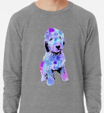 doodle watercolor pet portrait | Branson Lightweight Sweatshirt