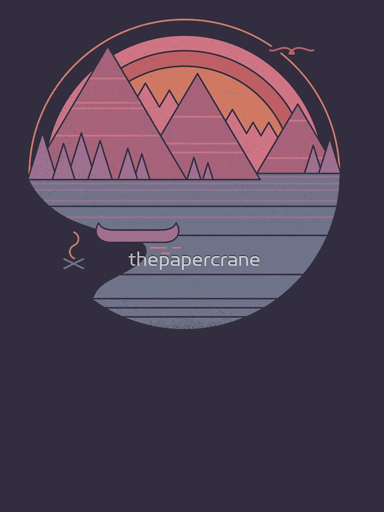 Die Berge rufen an von thepapercrane