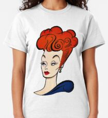 Lucille Ball Profile Classic T-Shirt