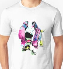 basset hound watercolor pet portrait | Biscuit Unisex T-Shirt