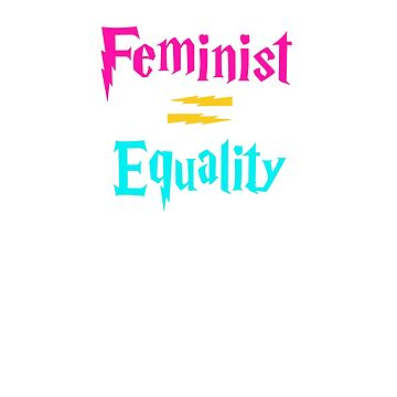 Feminist T-shirt by angelmc