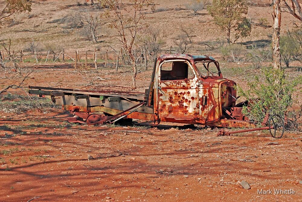 Arkaroola Truck by Mark Whittle
