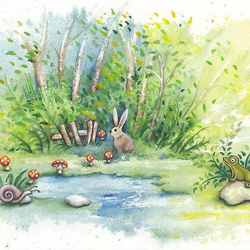 Mushroom Mushroom Snail by IvaW