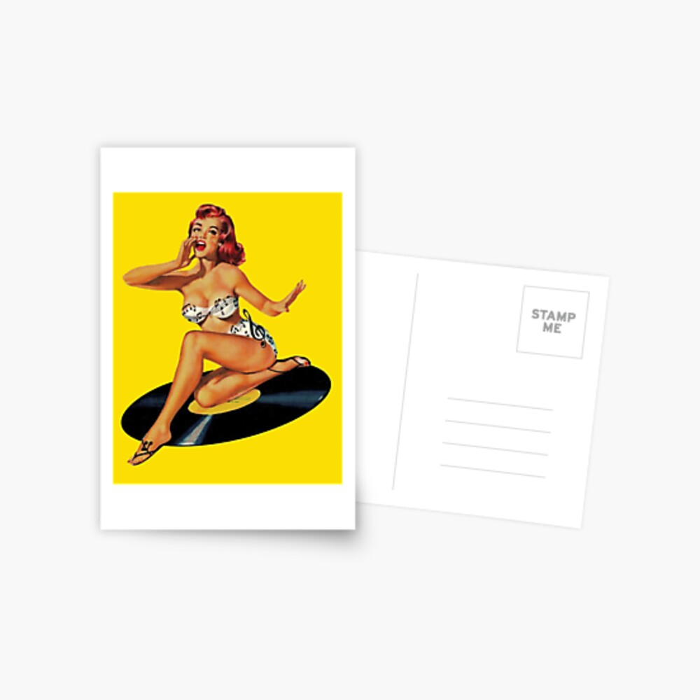 Diosa del Rockabilly Postal