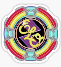 E.L.O. SPACESHIP Sticker
