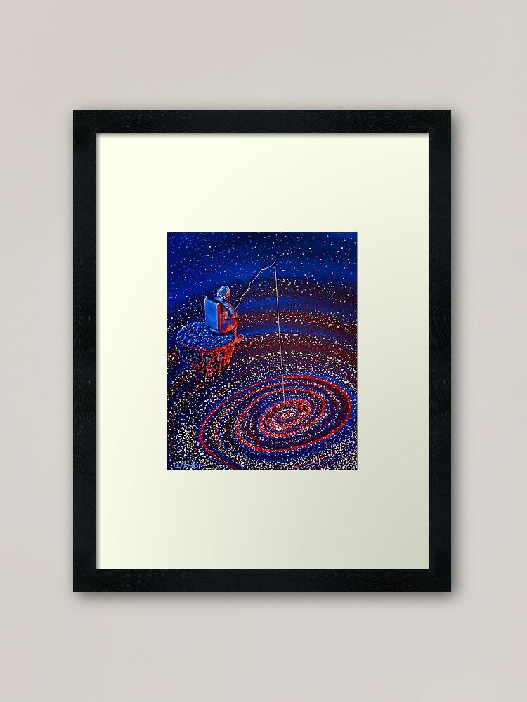Alternate view of Gone Fishin Framed Art Print