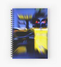 SAINZ junior - Digital Art Spiral Notebook