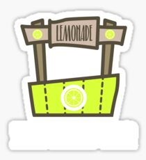 Lemonade Small Business Owner Shirt Sticker