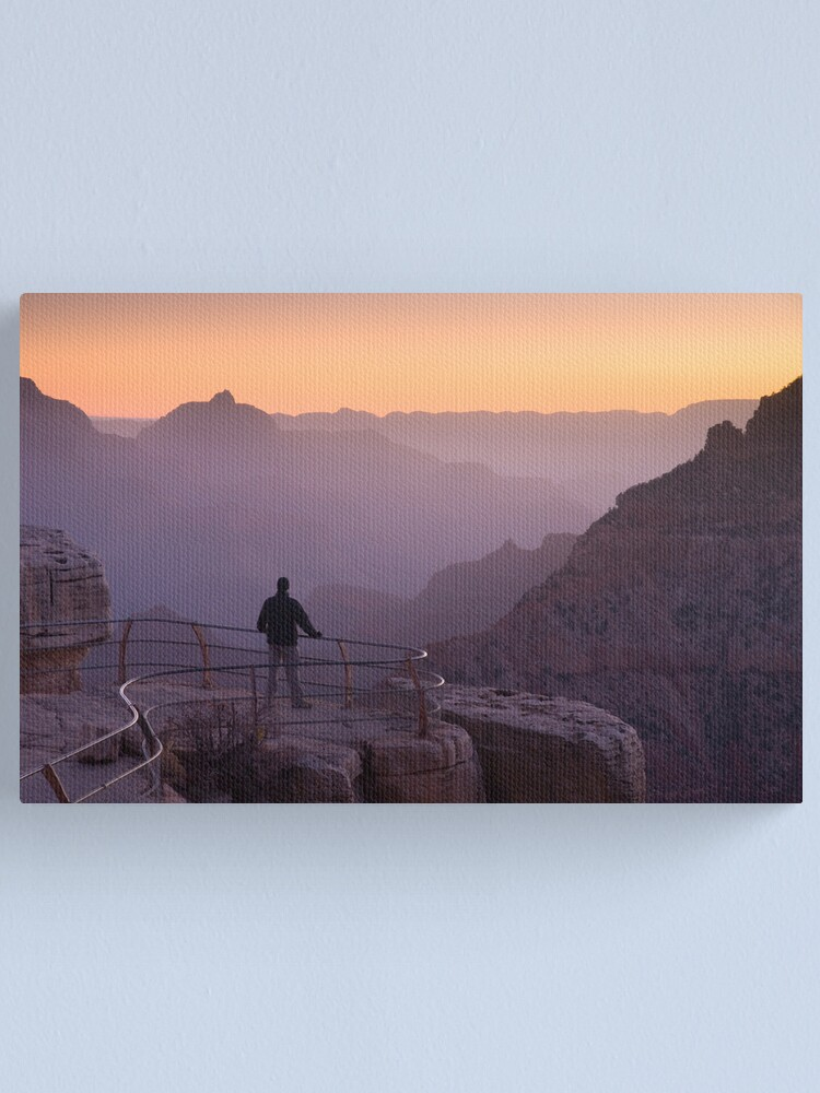 Alternate view of Grand Canyon.  Canvas Print