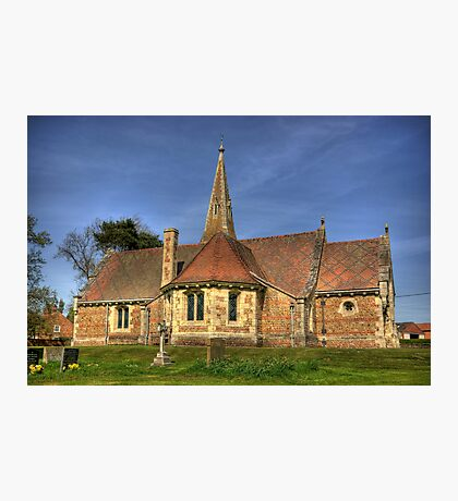 St Stephens Church - Aldwark near York Photographic Print