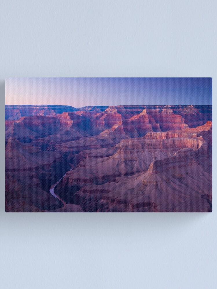 Alternate view of USA. Arizona. Grand Canyon. (Alan Copson ©) Canvas Print