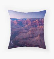 USA. Arizona. Grand Canyon. (Alan Copson ©) Throw Pillow