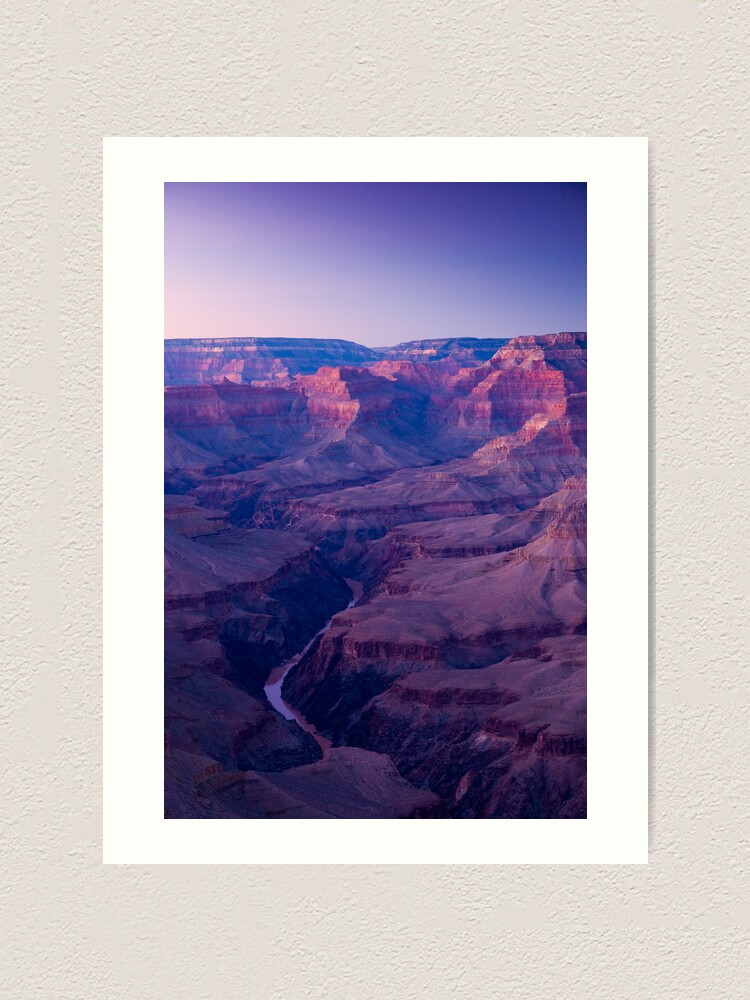 Alternate view of USA. Arizona. Grand Canyon.(Alan Copson ©) Art Print