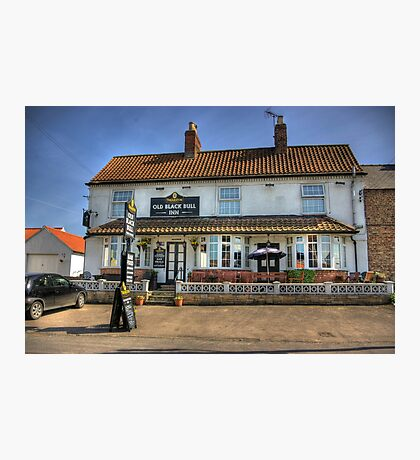 Old Black Bull Inn - Raskelf near York Photographic Print
