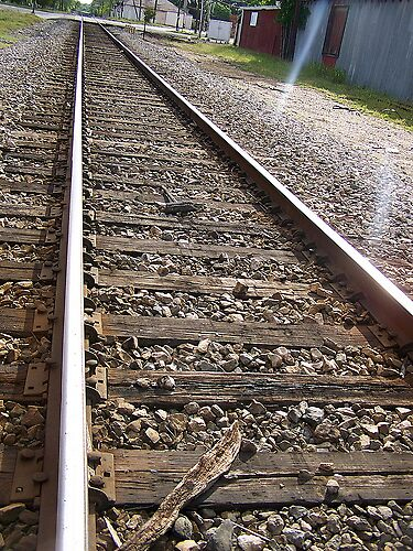 Railroad Tracks by LindseyDezirea