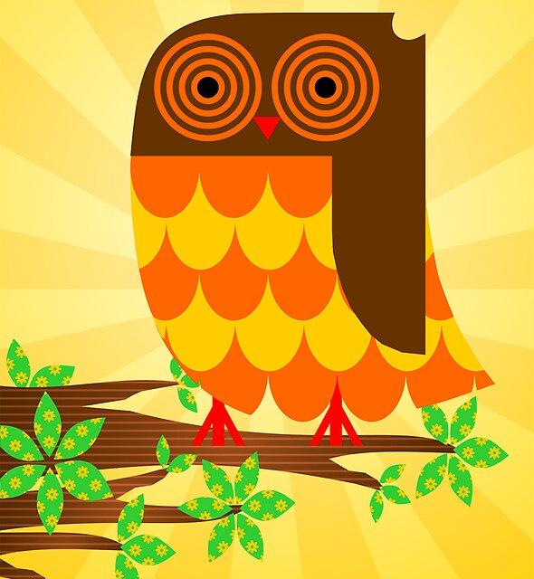 OWLT ON A LIMB by Julie Roe