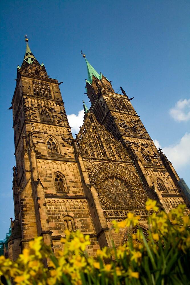 St. Lorentz Church, Nuremburg, Germany by polymerique