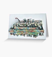 The Marraige of Oliveti. Greeting Card