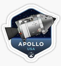 Space Race Serie - APOLLO Sticker