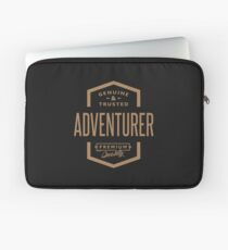 Adventurer - Funny Job and Hobby Laptop Sleeve