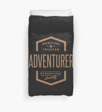 Adventurer - Funny Job and Hobby Duvet Cover