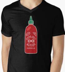 Extra Spicy Autistic Pride Men's V-Neck T-Shirt