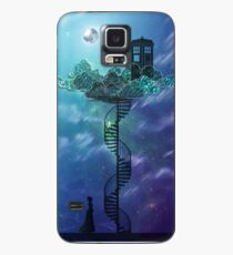 Blue Box in the Victorian Sky Case/Skin for Samsung Galaxy
