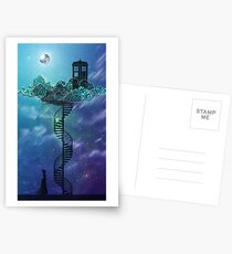 Blue Box in the Victorian Sky Postcards