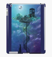 Blue Box in the Victorian Sky iPad Case/Skin