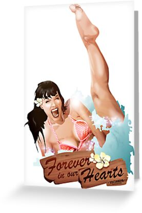 Betty Page by vectorink