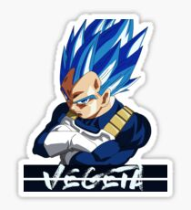 Vegeta at it's finest Sticker