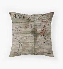 Gaul Throw Pillow