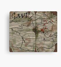 Gaul Canvas Print