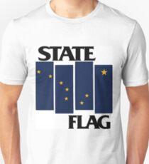 Alaska State Flag (Black Flag inspired) T-Shirt