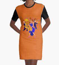 Brass Ensemble Graphic T-Shirt Dress